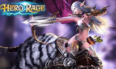 играть онлайн Hero Rage