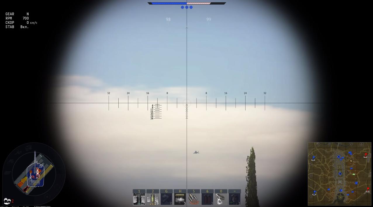 War Thunder игра 01