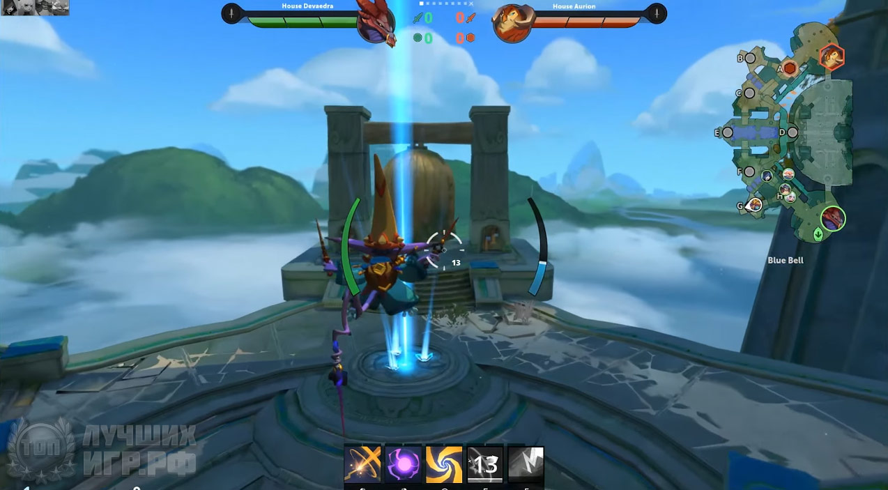 moba игра Gigantic