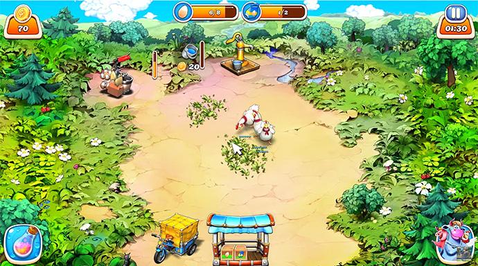 веселая ферма играть