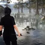 Final Fantasy XV — езда на Чокобо