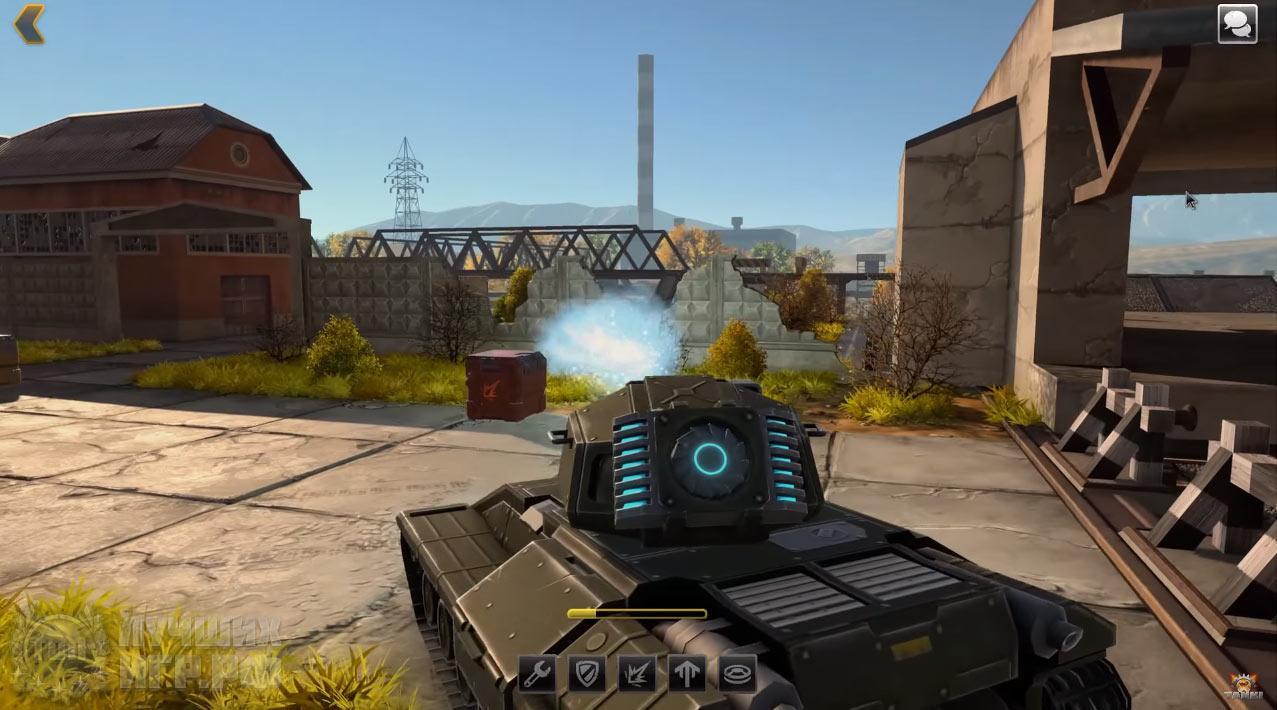 игра онлайн Tanki X