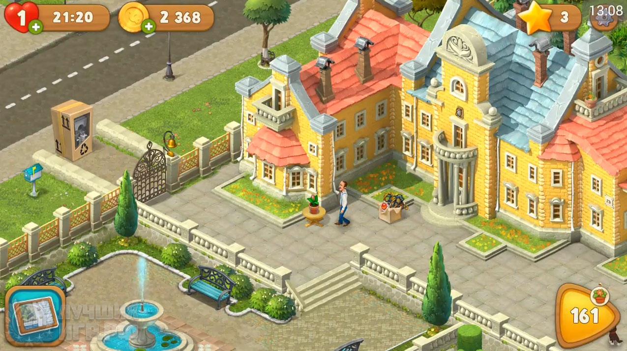 игра gardenscapes 01