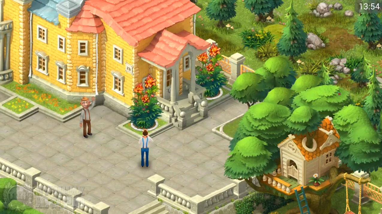 игра gardenscapes 02