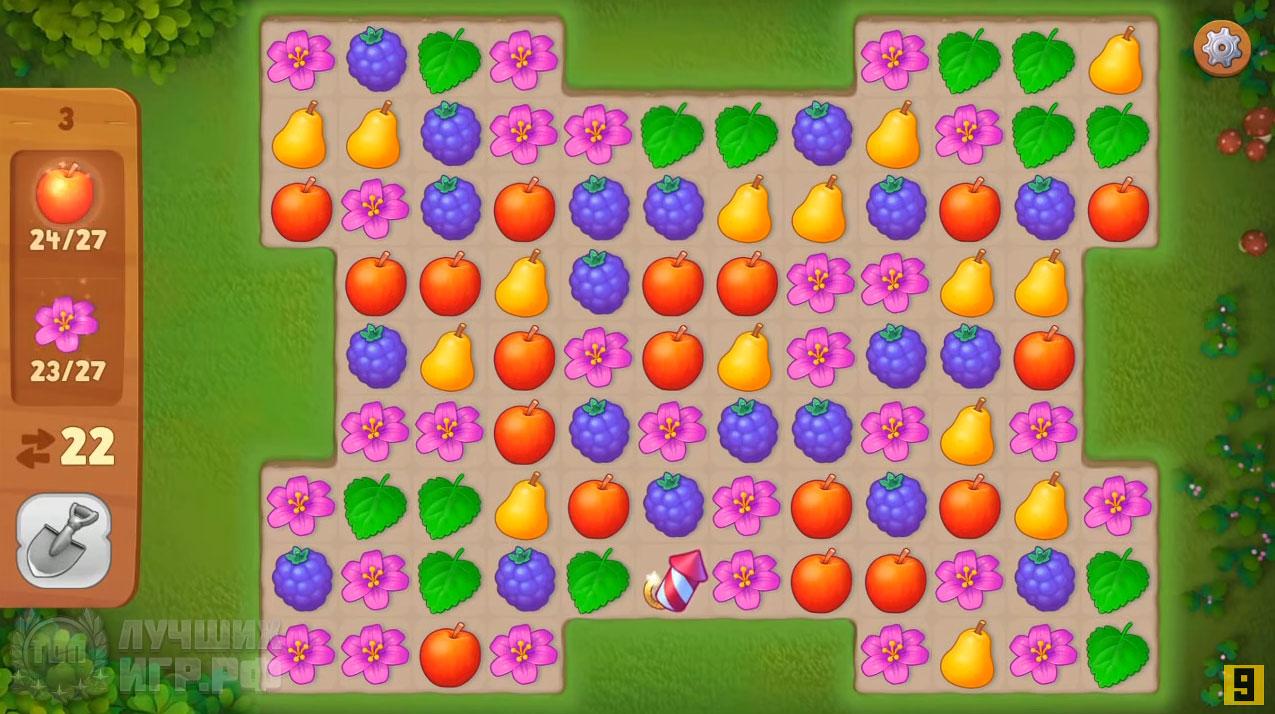 игра gardenscapes 04