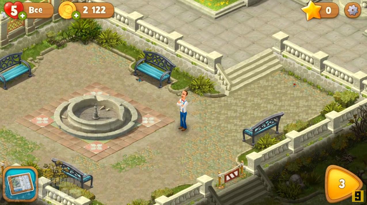 игра gardenscapes 06